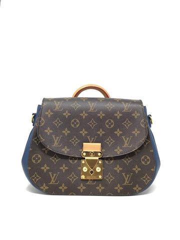 Louis Vuitton Monogram/Blue '12 Monogram 'Eden' MM W/Strap