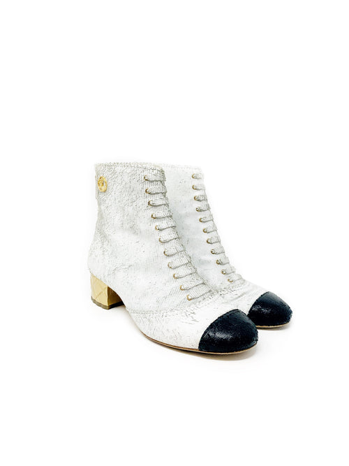 Chanel Runway Booties Size 37.5