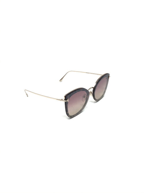 Tom Ford Butterfly Lens Over Frame Sunglasses