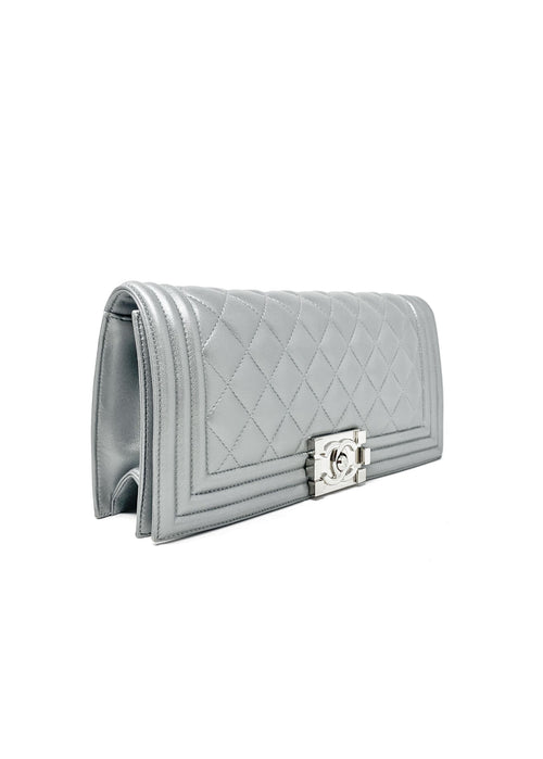 Chanel Platinum Clutch