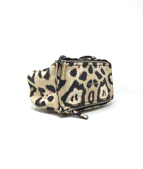 Givenchy Mini Pandora Leopard Crossbody