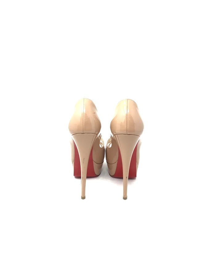 Christian Louboutin W Shoe Size 36 Patent Criss Cross 'Mademoi' 150mm High Heels