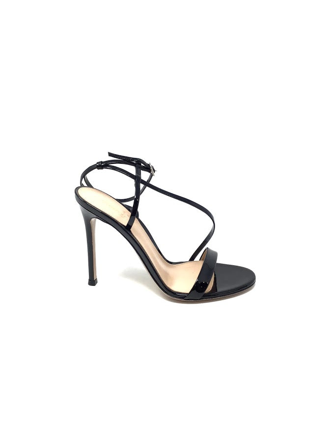 Gianvito Rossi W Shoe Size 35.5 Patent Leather Strappy Sandals