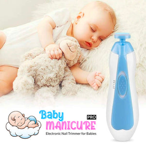 Baby Manicure Pro - Original Electronic Nail Trimmer for Babies