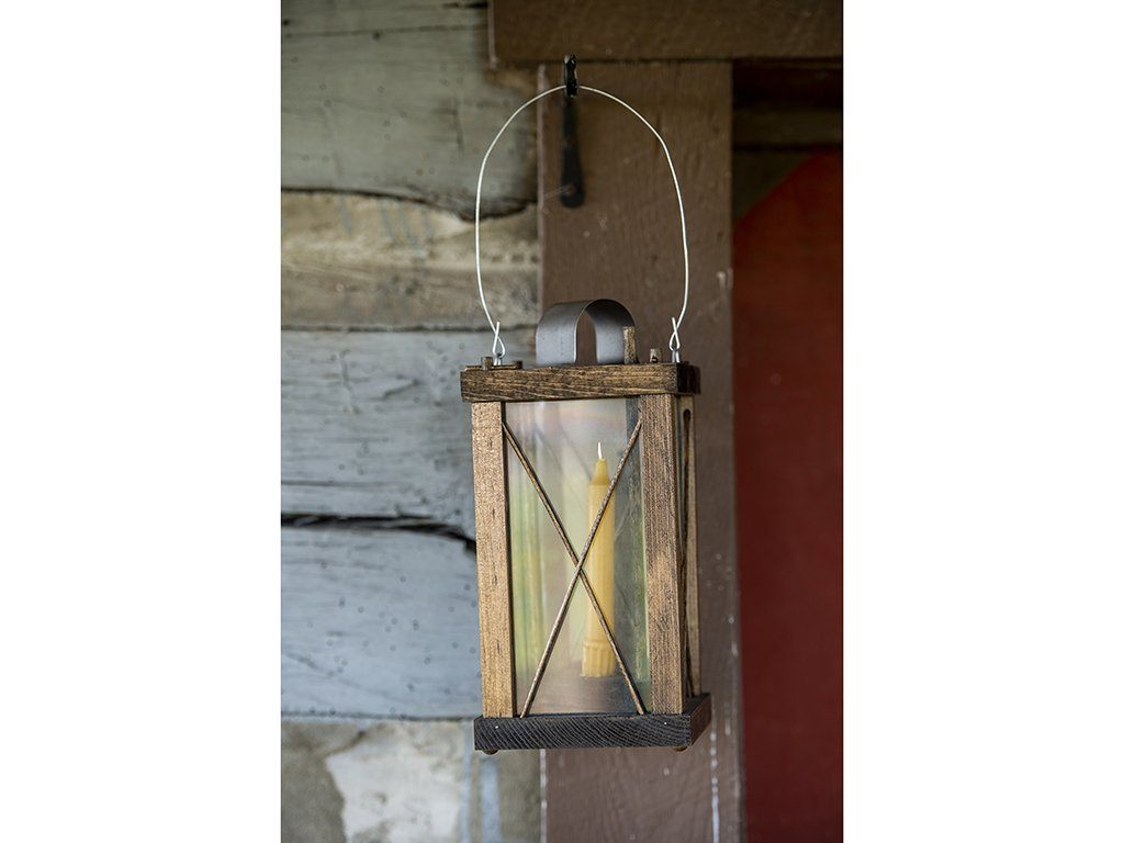 Wood Lantern - Samson Historical