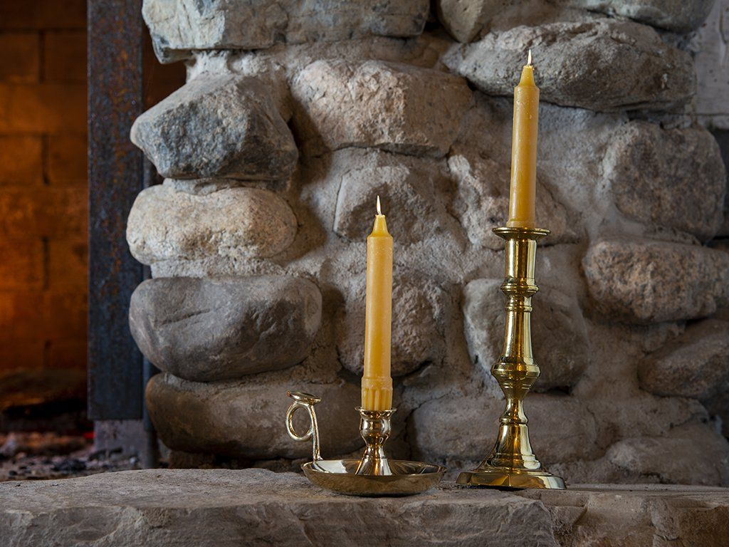 Beeswax Candles - Samson Historical