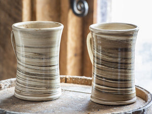 Agateware Waisted Mugs