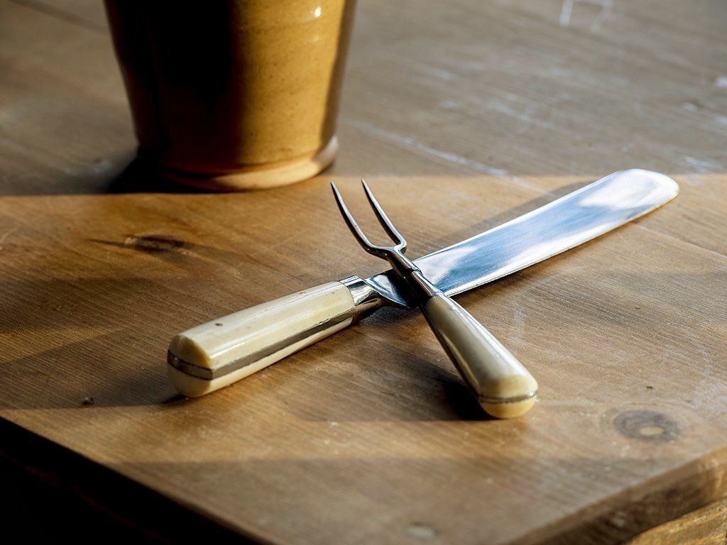 Bone Handled Cutlery Set - Samson Historical