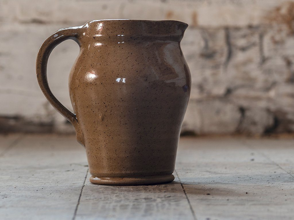 Stoneware Pitcher - Samson Historical