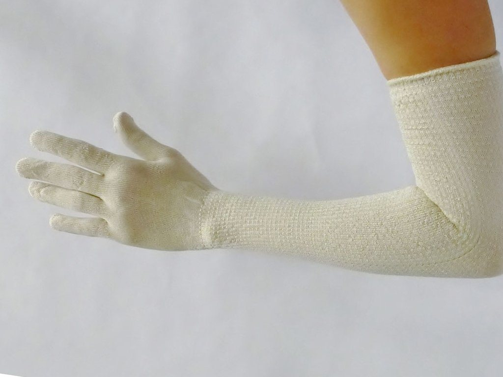 Long Silk Gloves - Samson Historical