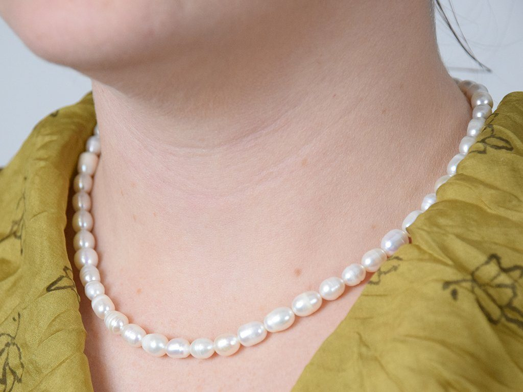 Seed Pearl Necklace - Samson Historical