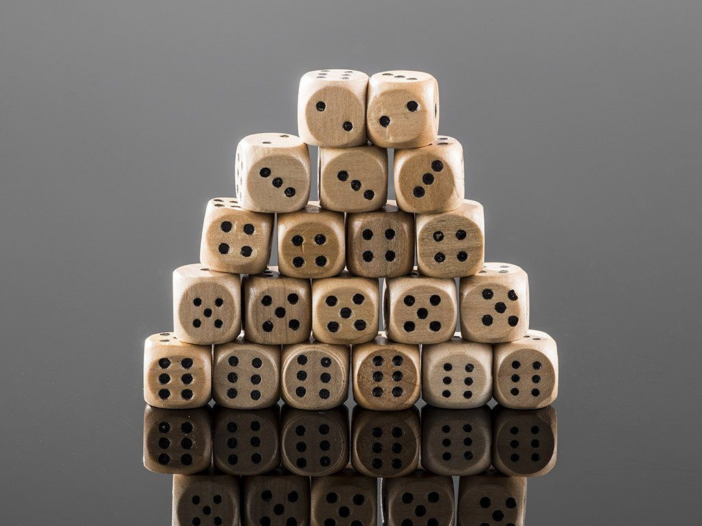 Wooden Dice - Samson Historical