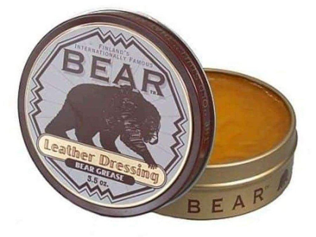 Bear Grease Leather Dressing Waterproofer & Conditioner - Samson Historical