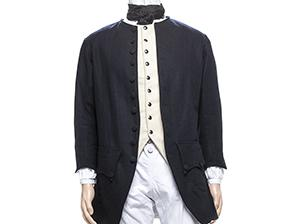 Wool 1770's Civilian Coat