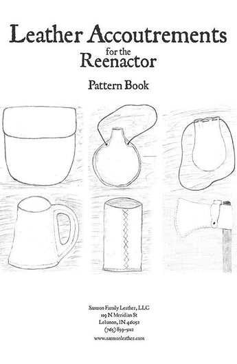 Leather Accoutrements for the Reenactor Pattern Book
