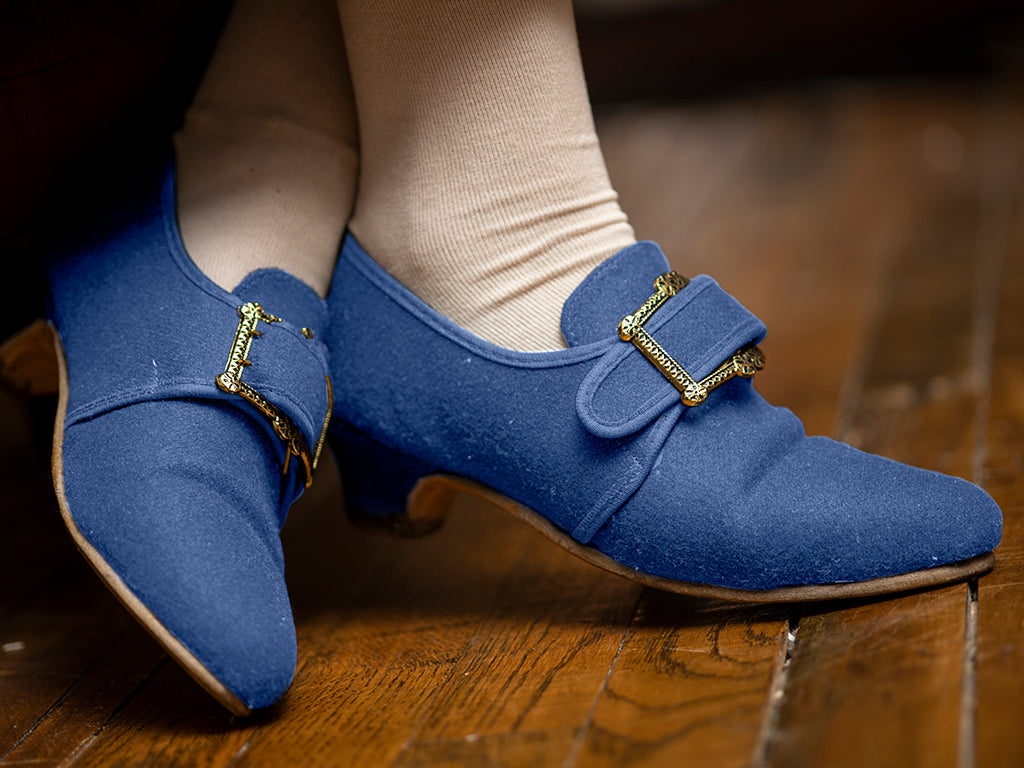 Mollys - Blue Woolen Shoes