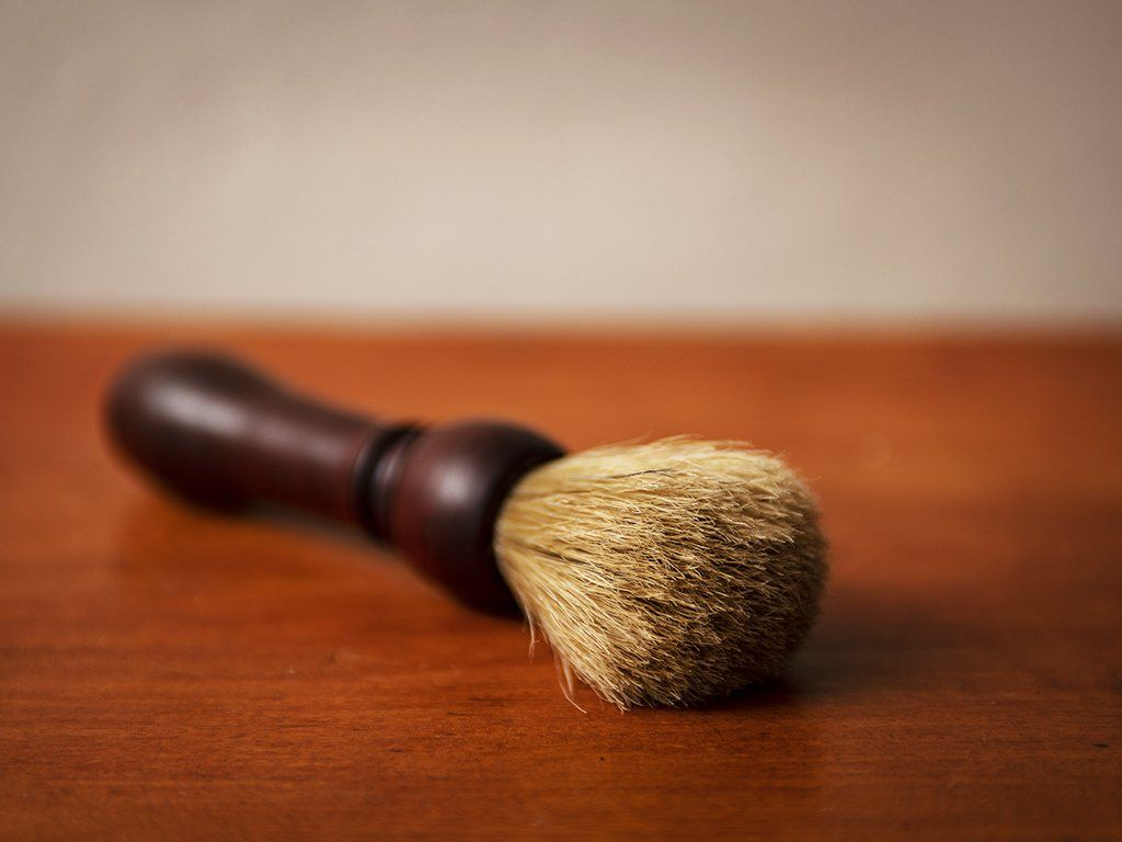 Boar Bristle Shaving Brush - Samson Historical