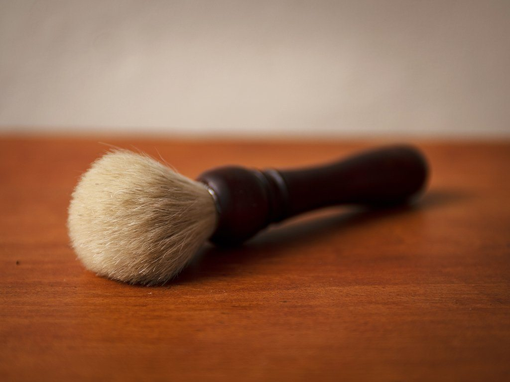 Horsehair Shaving Brush - Samson Historical