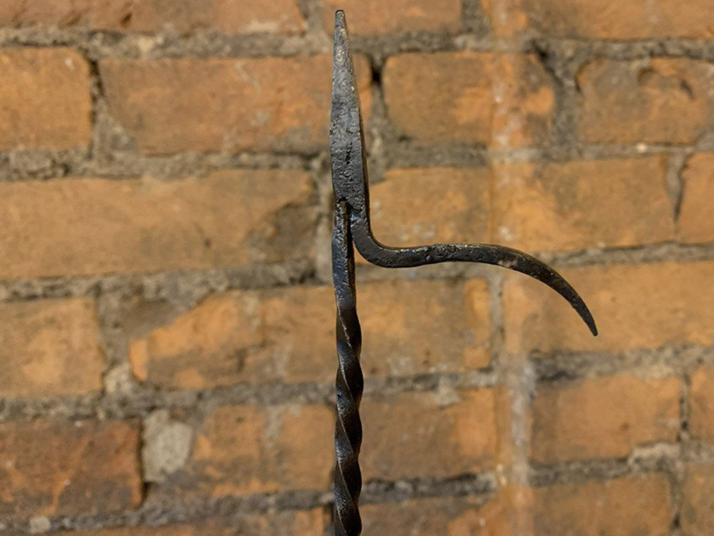 Hand Forged Crusie Lamp - Samson Historical