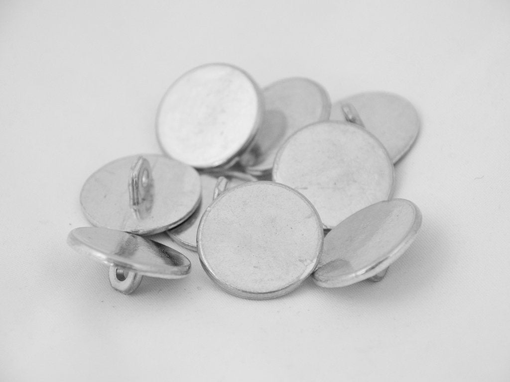"7/8"" Pewter Buttons - Samson Historical"