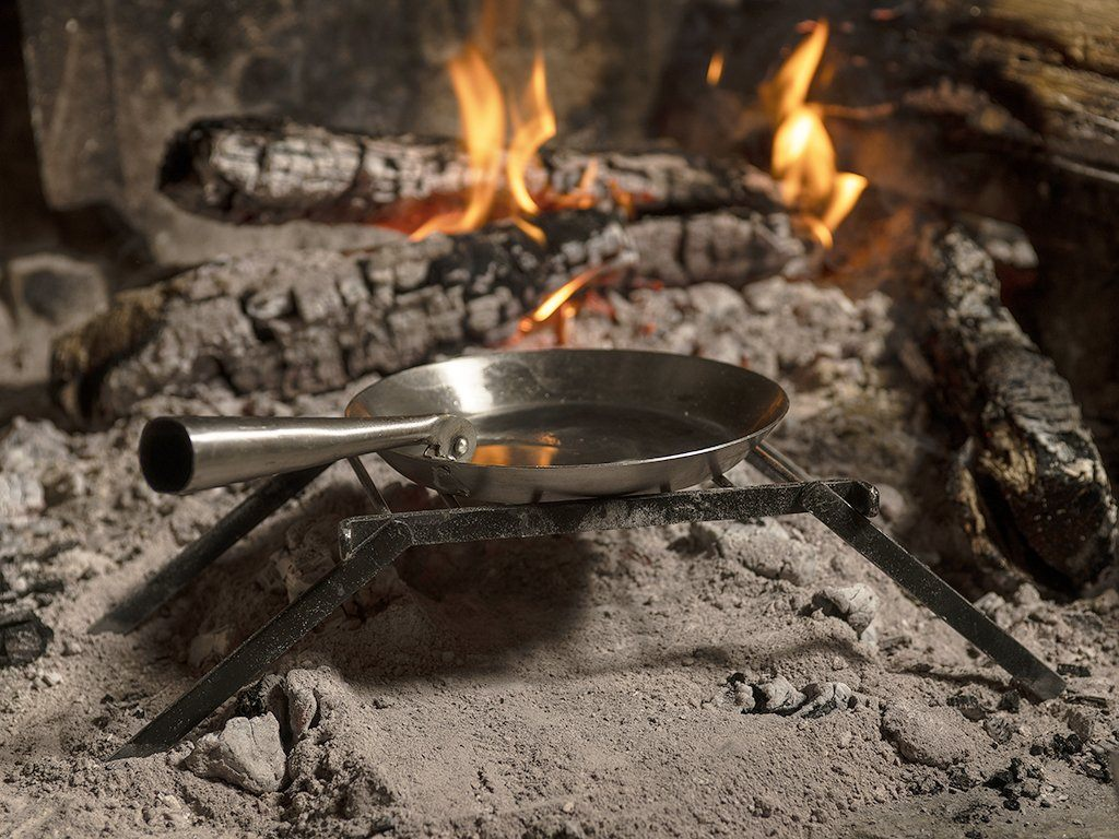 Folding Frying Skillet - Samson Historical