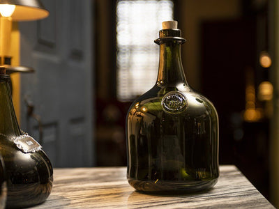 Dark Green Wine Bottle - Samson Historical