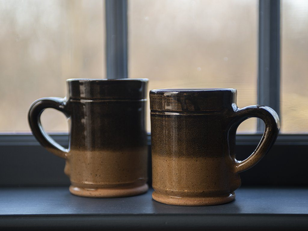 Brown & Tan Stoneware - Samson Historical