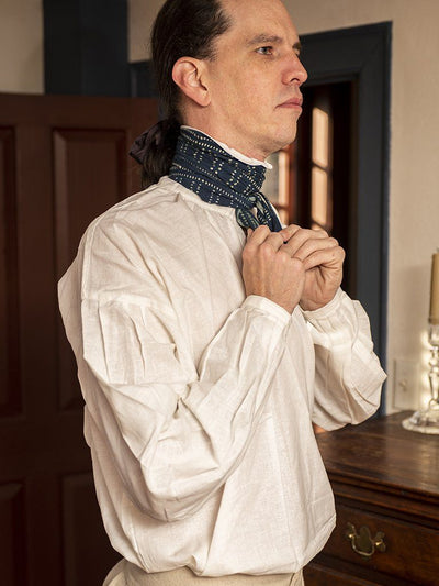 Linen Cotton Shirt - Samson Historical