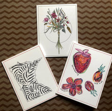 Load image into Gallery viewer, Illustrated Little Hill inspired Notecards (Set of 3)