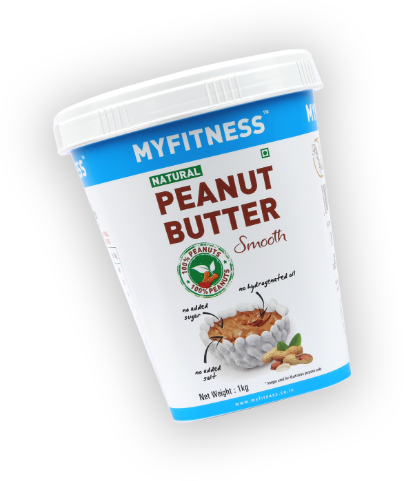 MYFITNESS Natural Peanut Butter: Smooth (1250g)