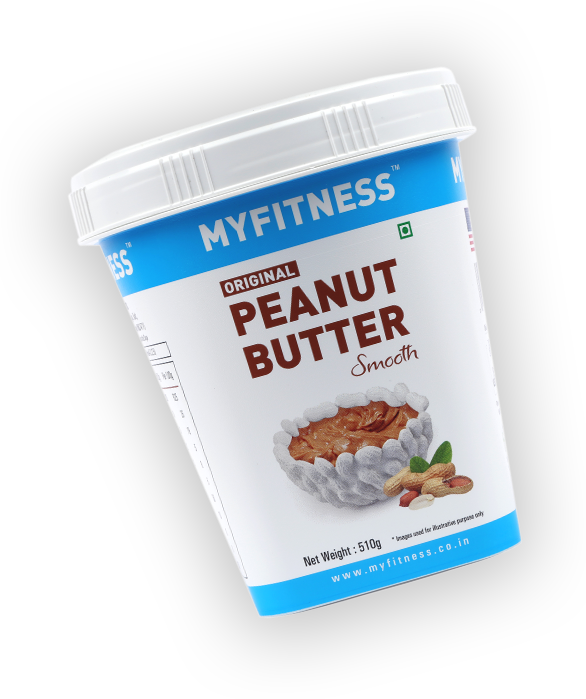 MyFitness Original Peanut Butter: Smooth (1250g) | Vegan | Keto-Friendly | Gluten Free