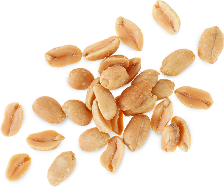 100% peanuts: A-grade, roasted