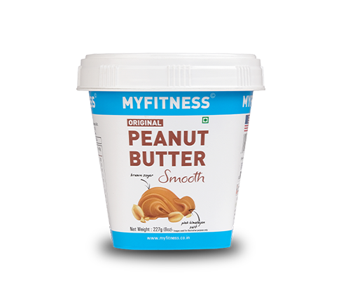 MYFITNESS Original Peanut Butter: Smooth (227g) (Pack of 4)