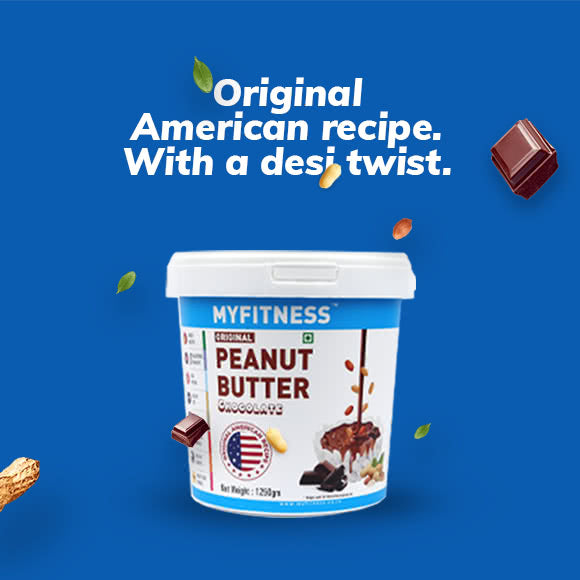 MYFITNESS Original Peanut Butter: Chocolate (1250g)