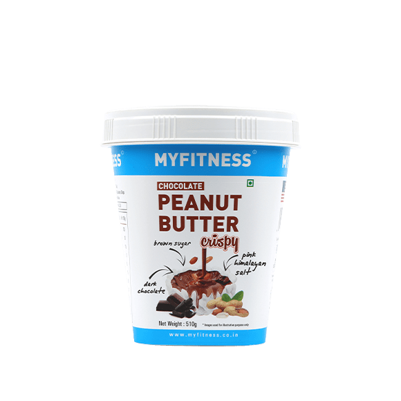MyFitness High Protein Chocolate Peanut Butter: Crispy (510g) | Vegan | Keto Friendly