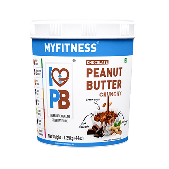 MyFitness High Protein Chocolate Peanut Butter: Crunchy (1250g) | Vegan | Keto Friendly
