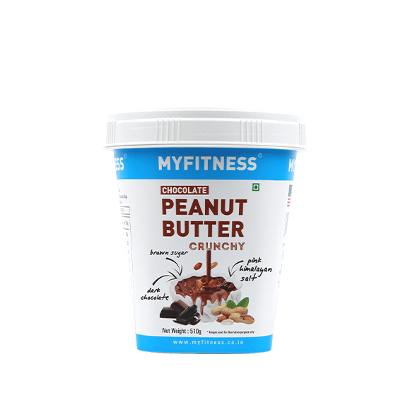 MyFitness High Protein Chocolate Peanut Butter: Crunchy (510g) | Vegan | Keto Friendly