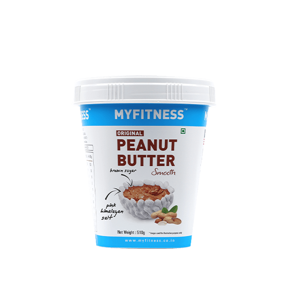 MyFitness Original Peanut Butter: Smooth (510g) | Vegan | Keto-Friendly | Gluten Free