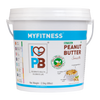 MYFITNESS Natural Peanut Butter: Smooth (2.5 kg)