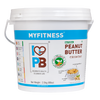 MyFitness Natural Peanut Butter: Crunchy (2.5 kg) | Vegan | Keto-Friendly | Gluten Free