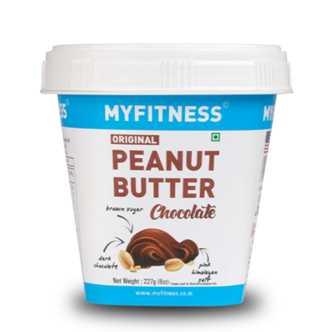 MYFITNESS Original Peanut Butter: Chocolate (227g) (Pack of 4)