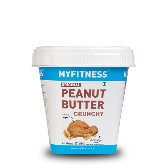 MYFITNESS Original Peanut Butter: Crunchy (227g) (Pack of 4)