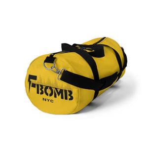 Yellow F-BOMB Duffel Bag