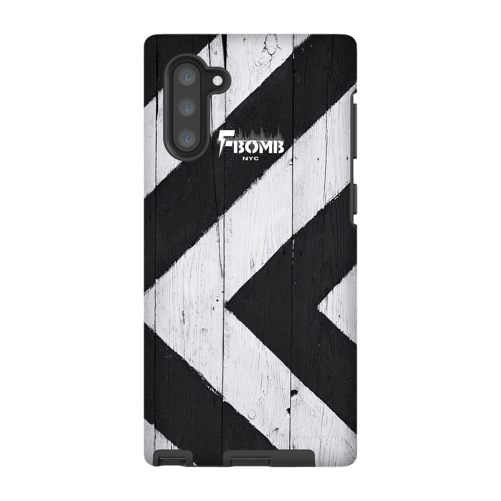 F-BOMB ZIG WOOD Note10 Phone Case