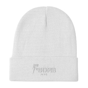 F-Bomb Embroidered Beanie