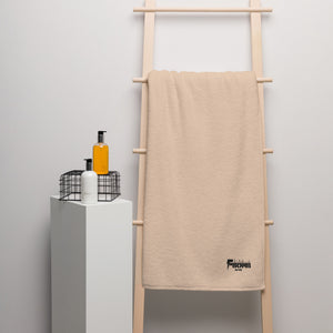 Oversized F-BOMB Turkish cotton towel