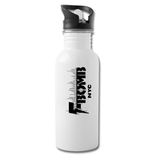 Load image into Gallery viewer, F-BOMB BOLT Water Bottle - white