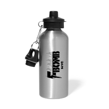 Load image into Gallery viewer, F-BOMB BOLT Water Bottle - silver