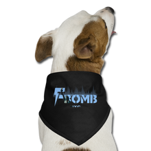 Load image into Gallery viewer, LIBERTY F-BOMB Dog Bandana - black