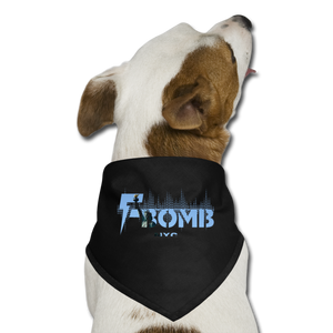LIBERTY F-BOMB Dog Bandana - black